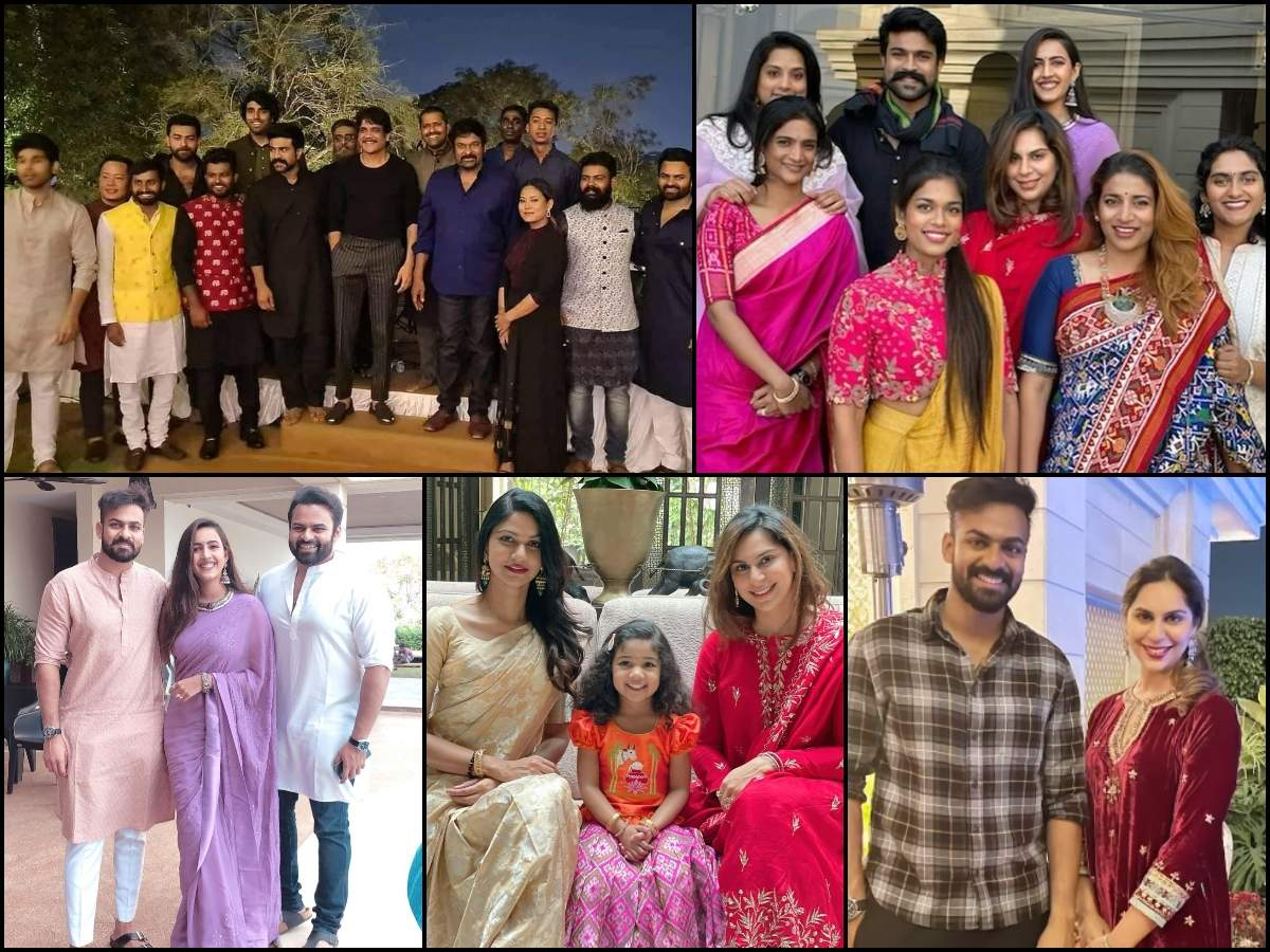 Sankranthi Celebration at Chiranjeevi's home