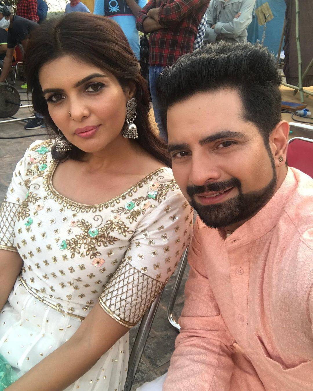 Karan Mehra with Ihana Dhillon