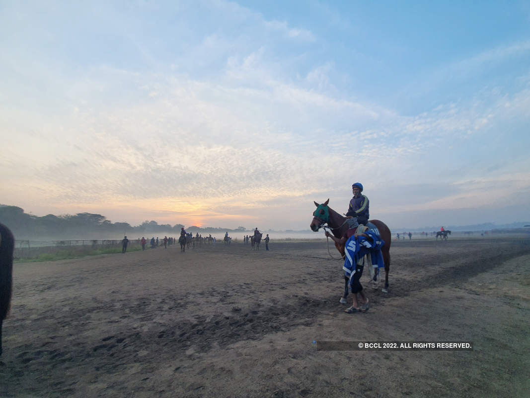 An absolute delight for your eyes. Stunning visuals from Pune Race Course