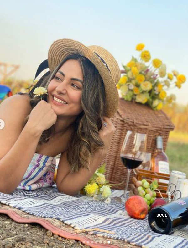 Actress Hina Khan celebrates her 12 years in industry