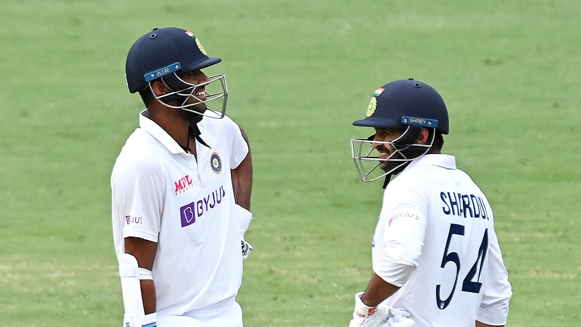 IN PICS: Indian rookies thwart Aussie bowlers on Day 3