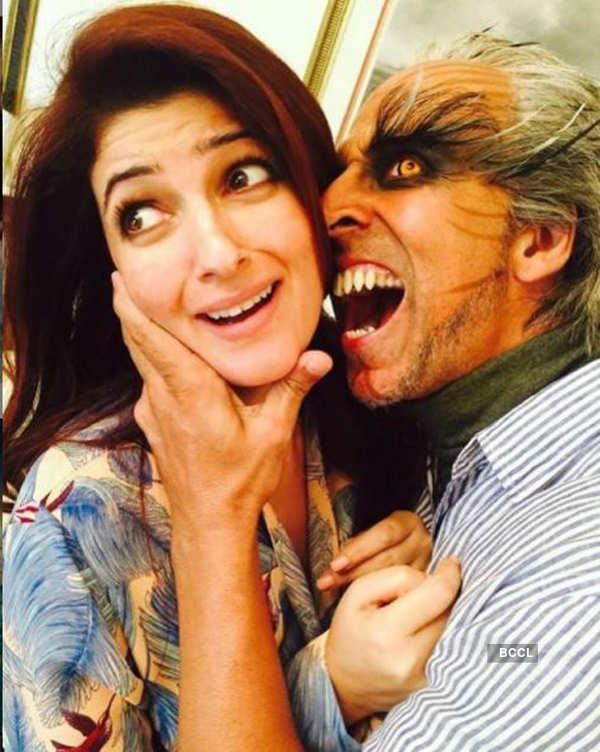 Akshay Kumar and Twinkle Khanna celebrate 20th wedding anniversary