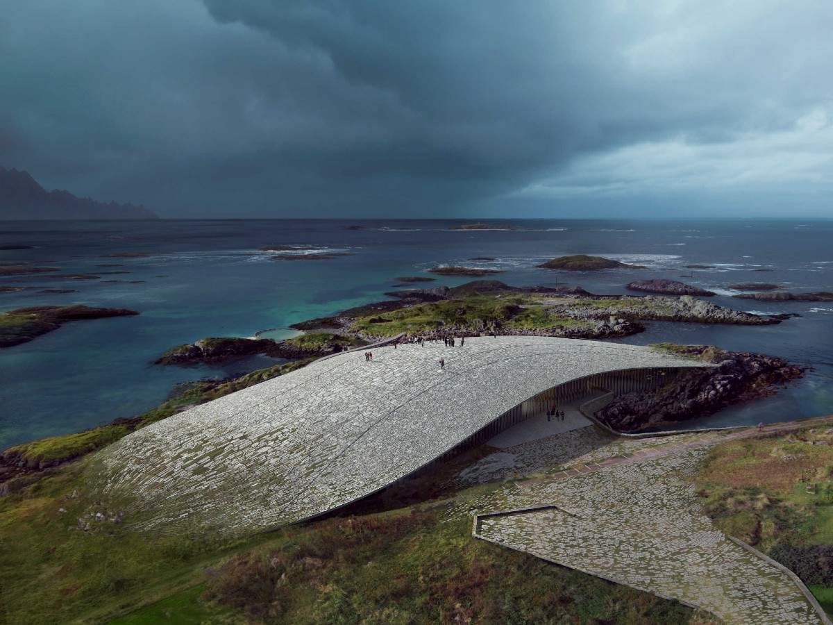 Norway is building a new whale museum in the shape of a whale tail