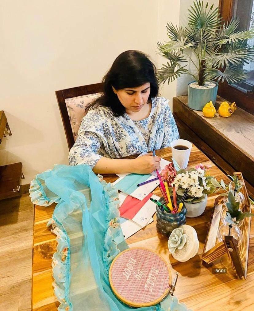 Noor Bhatia, a designer who believes every simple pattern has something beautiful hidden in it