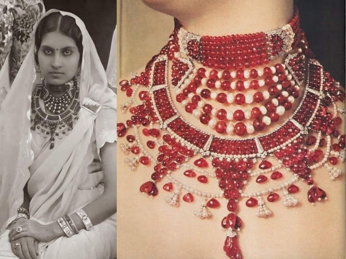 Patiala ruby choker - Maharani of Patiala