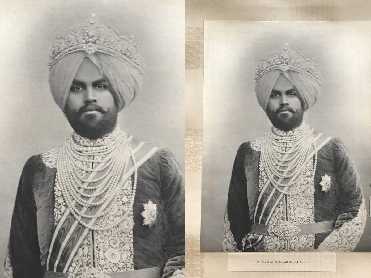 Diamond crown - Maharaja of Kapurthala
