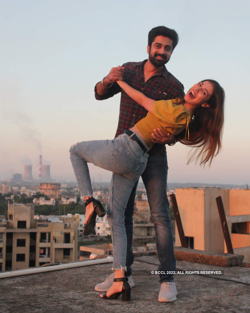 Avinash Sachdev and Palak Purswani's exclusive photoshoot