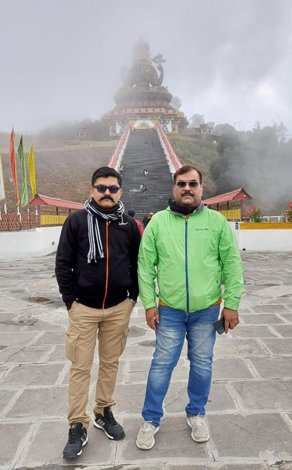 Amitesh Anand and Binod Ranjan, Directors of Trimurti Publicity, Patna