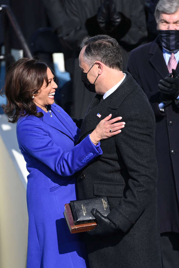 Best pictures from Joe Biden's inauguration ceremony