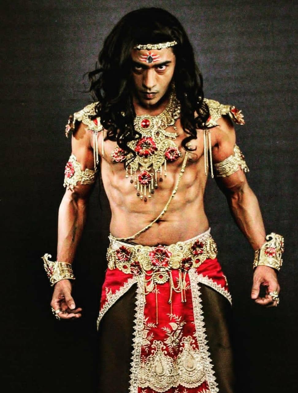 Vinit Kakar as Shishupal in the show RadhaKrishn