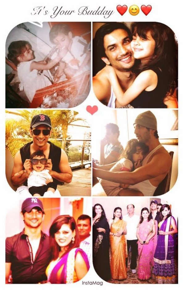 Sushant Singh Rajput's sister shares priceless throwback pictures on his birth anniversary