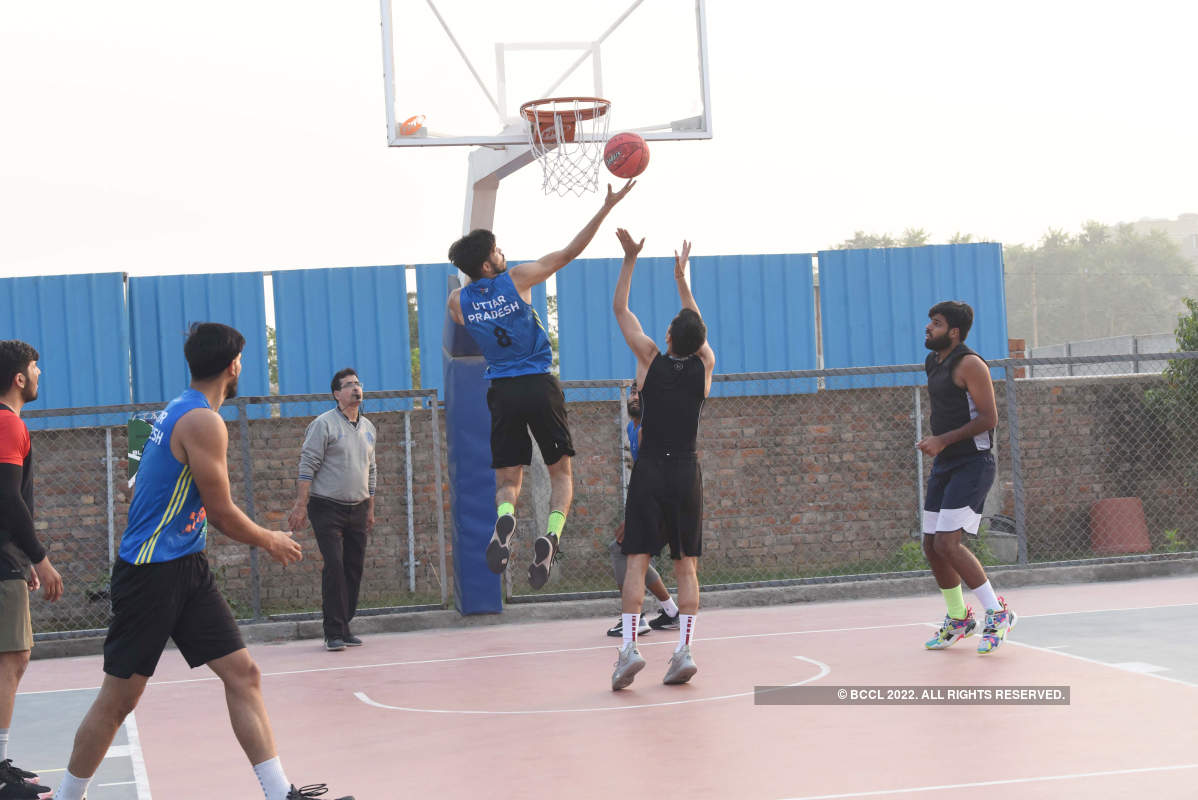 Top 3x3 basketball players in action at an event