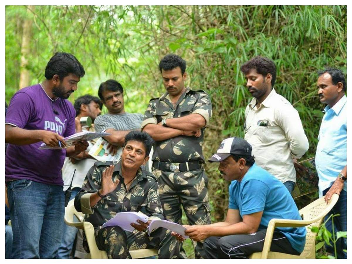 'Killing Veerappan' - On the sets