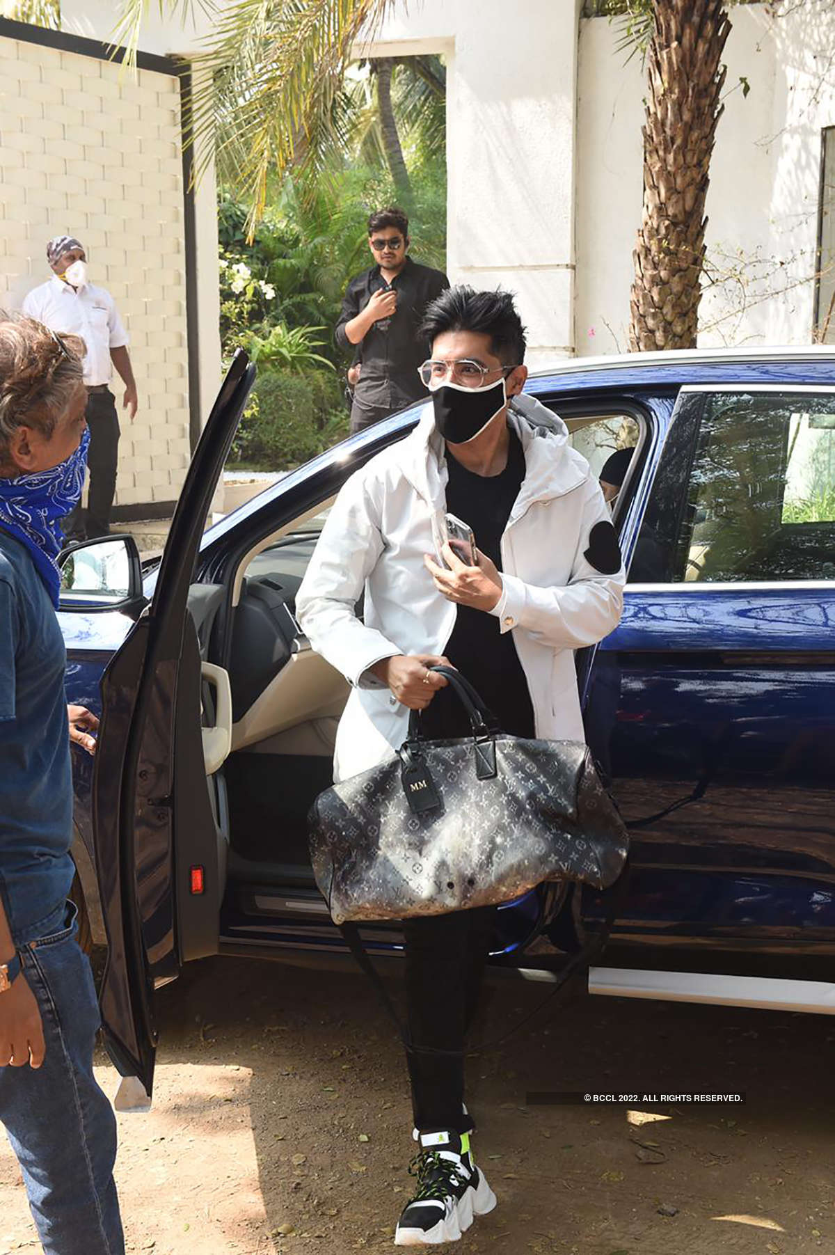 Celebrities attend Varun Dhawan's wedding celebration