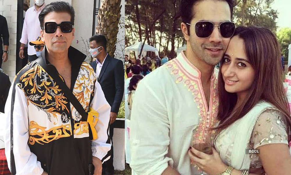 Pictures of Varun Dhawan and Natasha Dalal's wedding go viral
