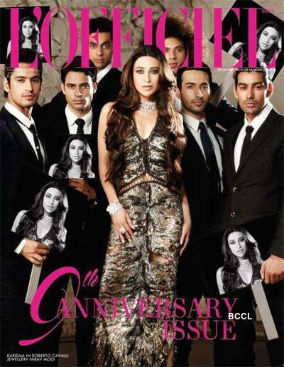 Cover girl Karisma