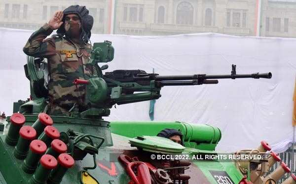 Rehearsals in full swing for Republic Day parade