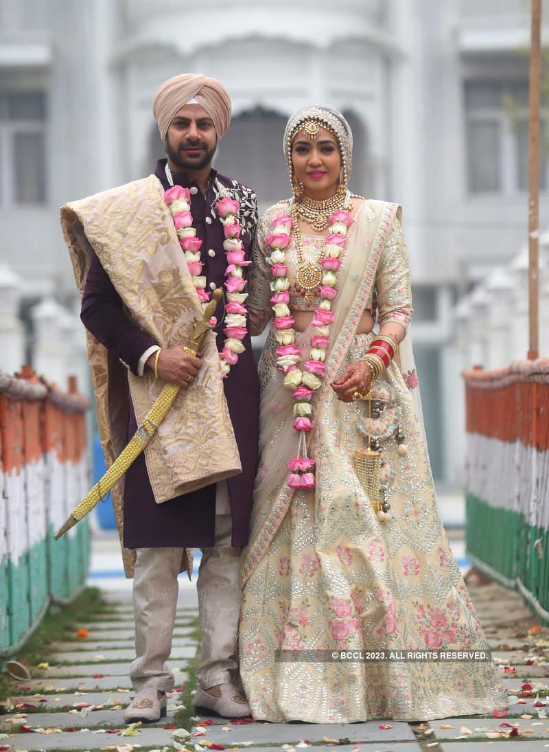 Inside pictures from Karan Veer Mehra and Nidhi Seth's wedding ceremonies