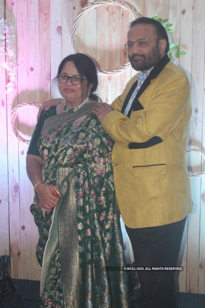 Shreyas Puranik and Aishwarya Bhandari's wedding reception