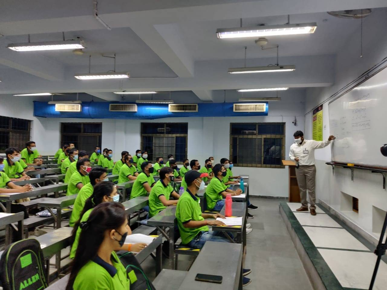 Coaching hub Kota buzzes with students again
