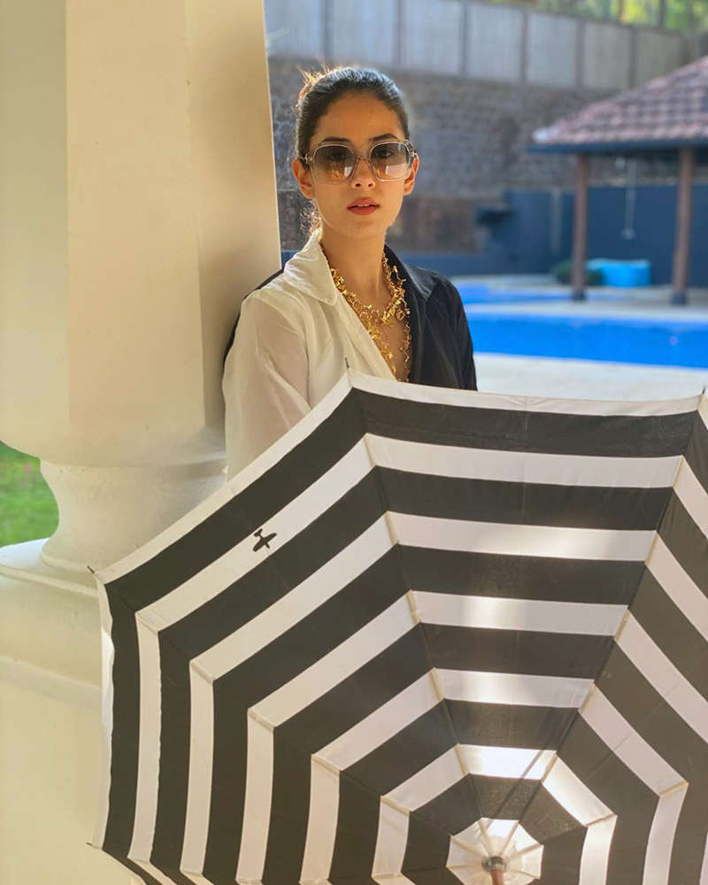Mira Rajput is making heads turn with her new picture in a stylish swimsuit