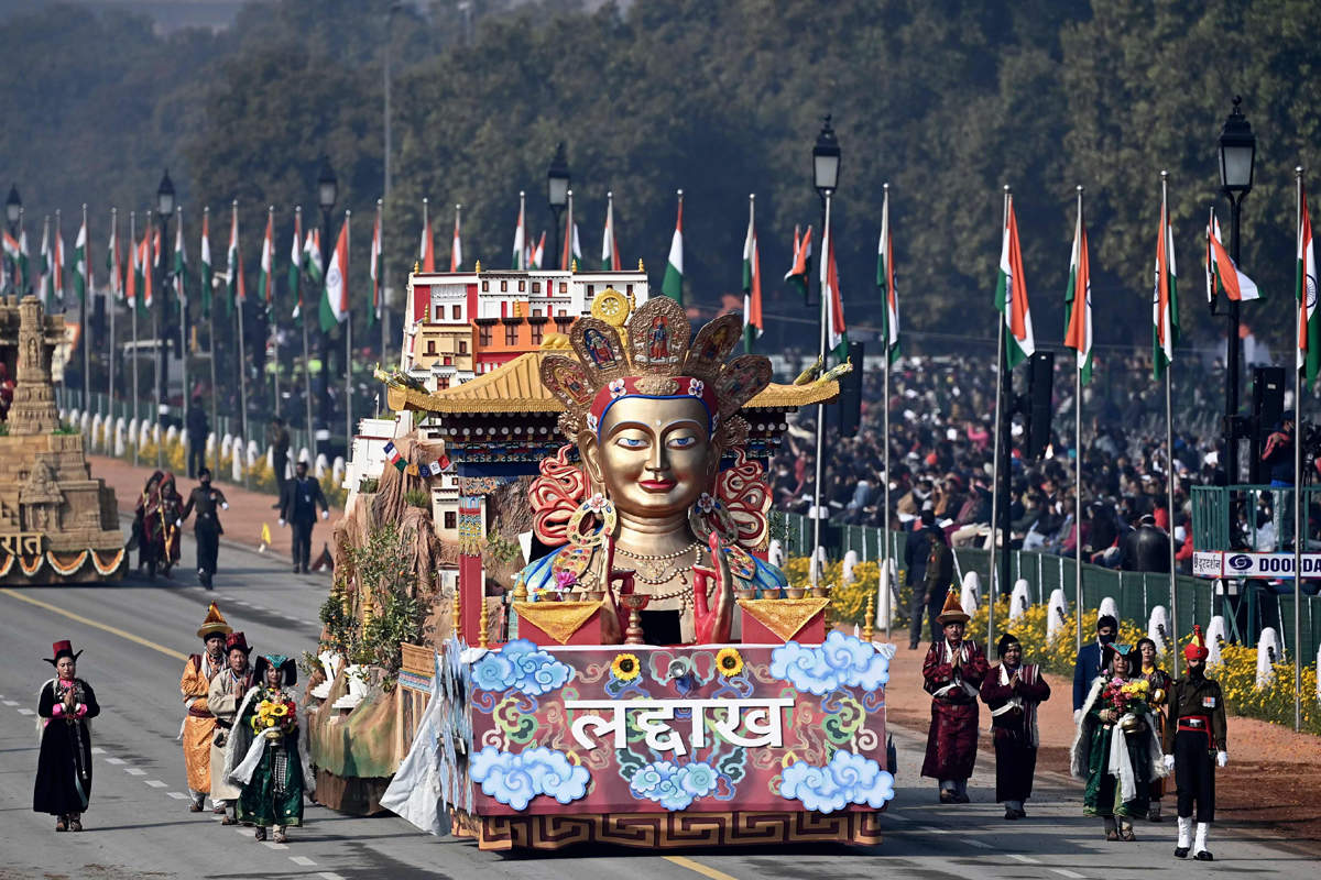 Spectacular pictures from India's 72nd Republic Day celebrations