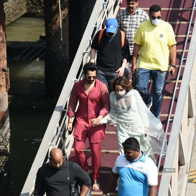 First pictures of Varun Dhawan and Natasha Dalal post their intimate wedding