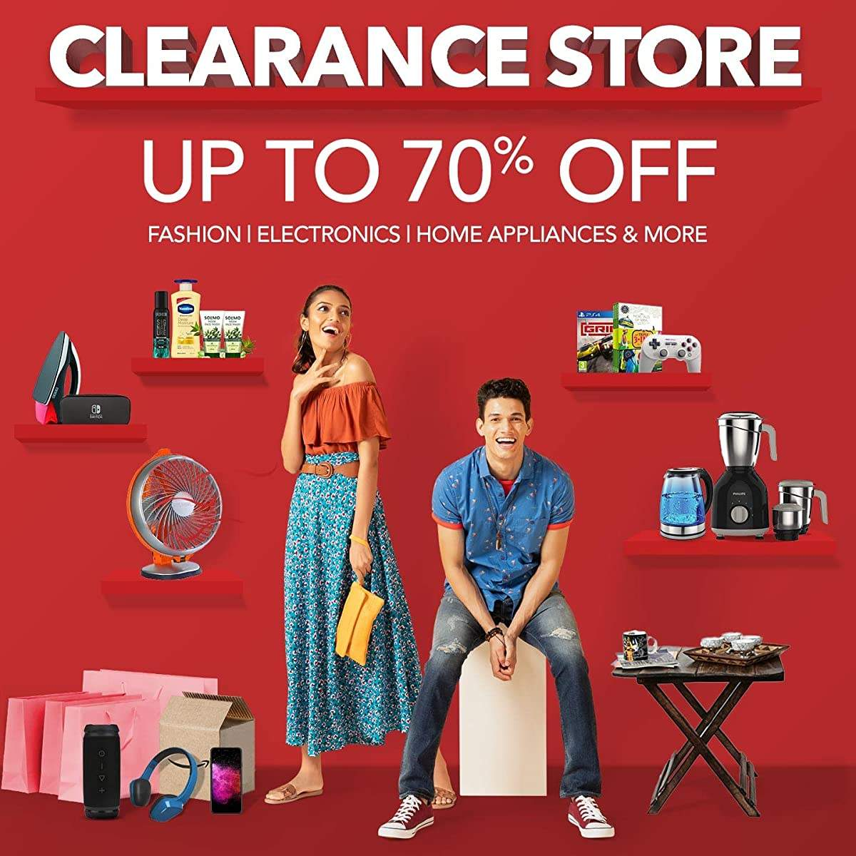 Amazon Clearance Store sale - Upto 70% off