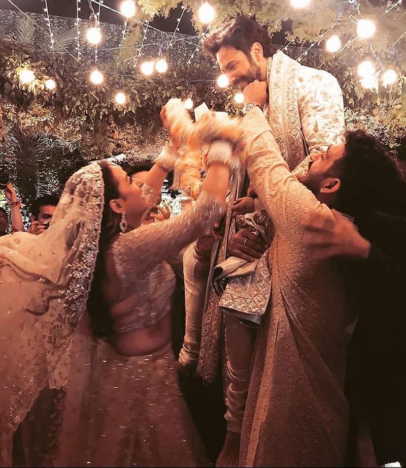 Unmissable pictures of Varun Dhawan & Natasha Dalal's wedding festivities - Times of India