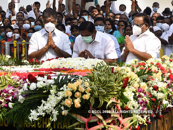 Jayalalithaa memorial inaugurated in Tamil Nadu