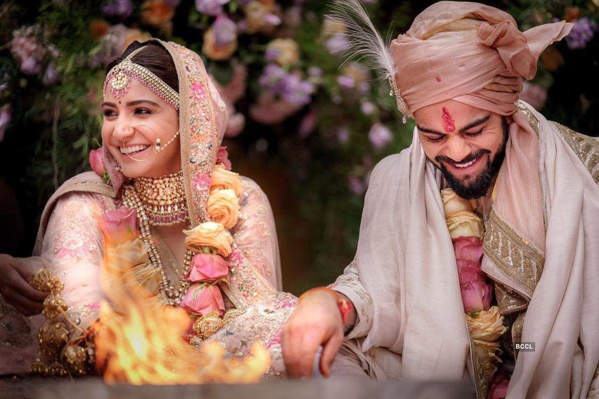 Beautiful wedding pictures of celebrities