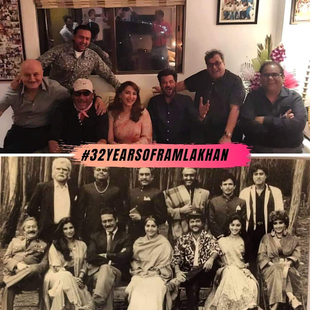, Exclusive! Madhuri Dixit on #32YearsOfRamLakhan: Even now, the film gets the same amount of love which I think is very rare – Times of India,