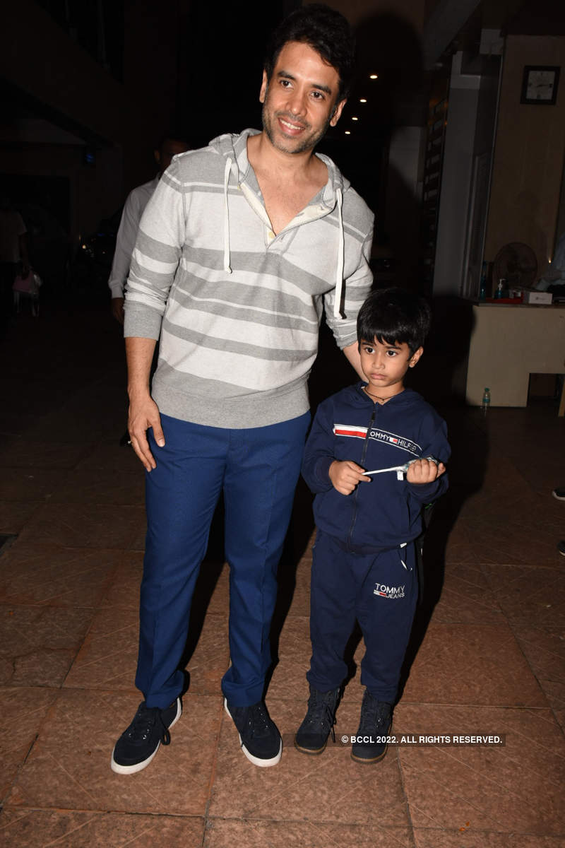 Telly stars come in full attendance at Ekta Kapoor's son Ravie's birthday party