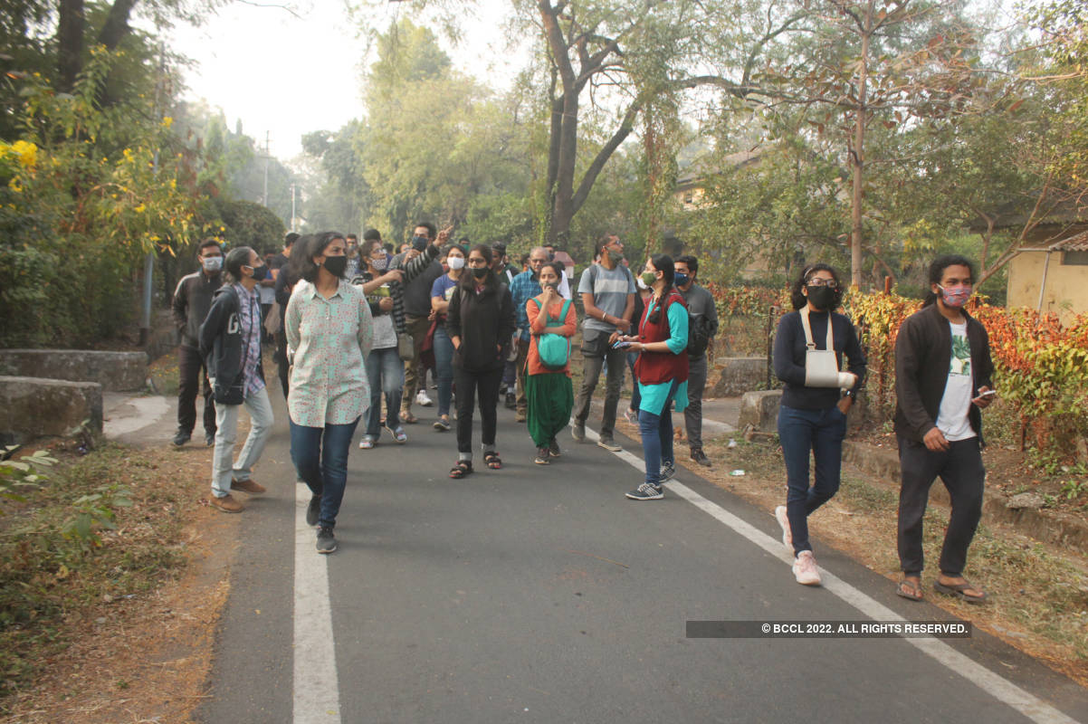 Nagpur's nature lovers attended a Tree Walk session at Ajni Vann