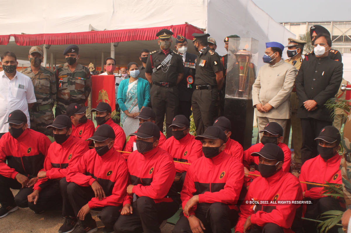 Republic Day celebrated at Kasturchand Park
