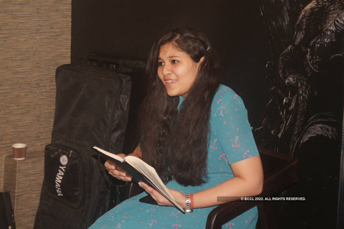 Youngsters showcase their talent at this poetry night