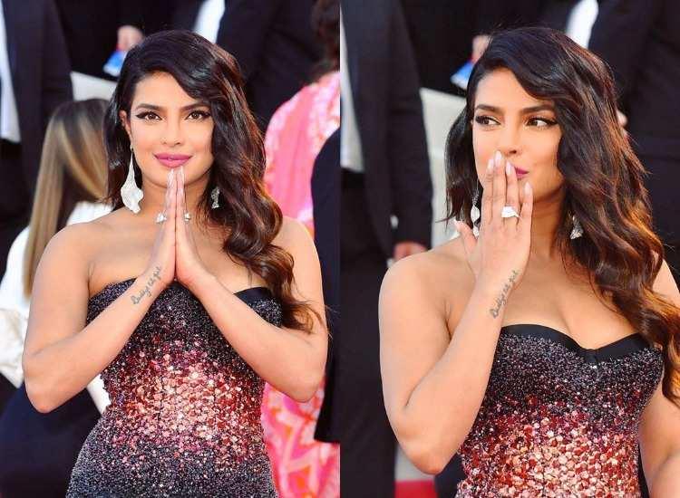 Here Is How Priyanka Chopra Saved Herself From Wardrobe Malfunction At Cannes 2019