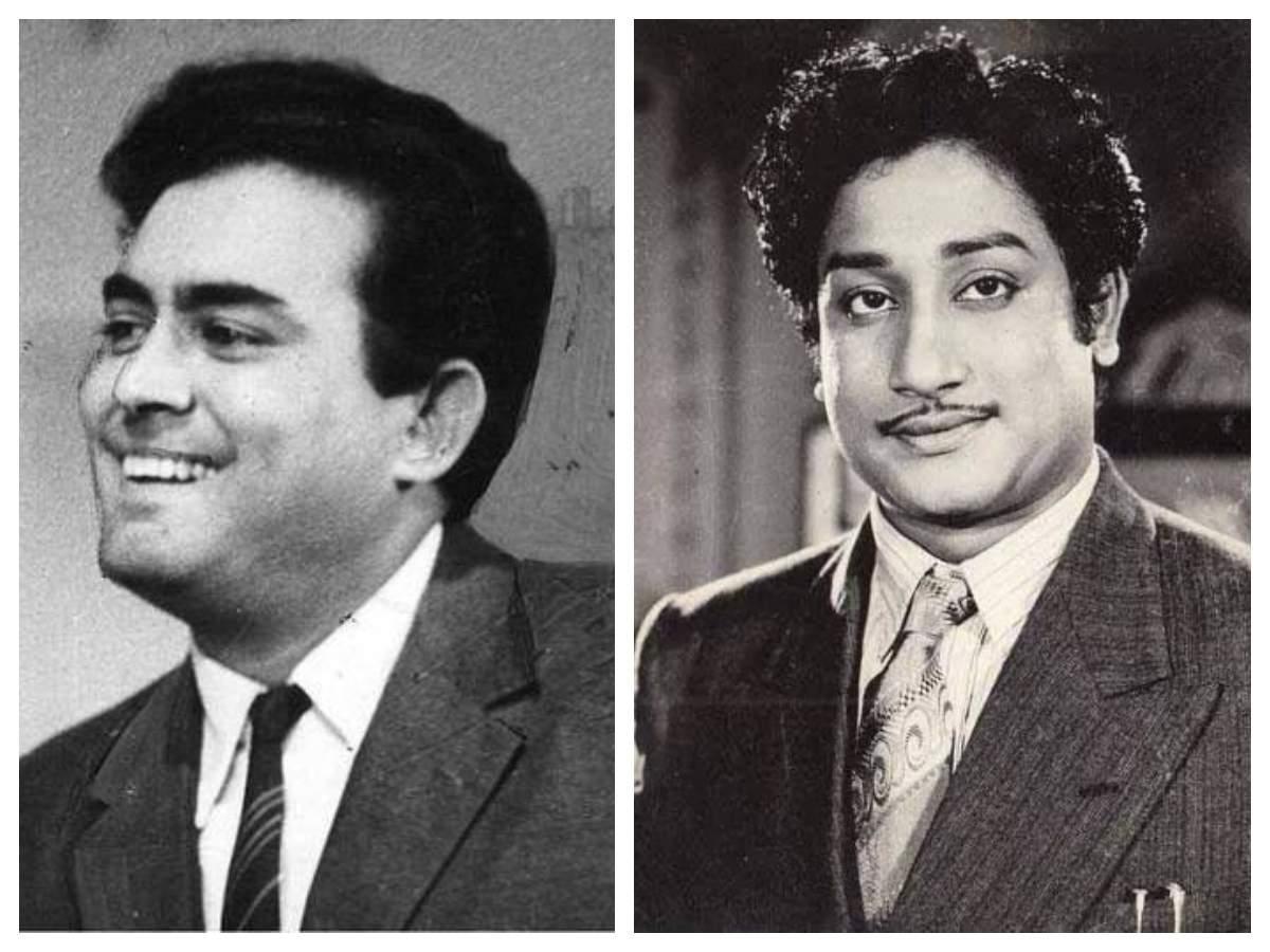 Sanjeev Kumar and Sivaji Ganesan