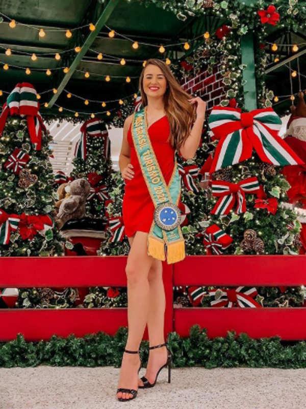 Brazil's Carol Vinharski crowned Miss Tourism International 2020/21