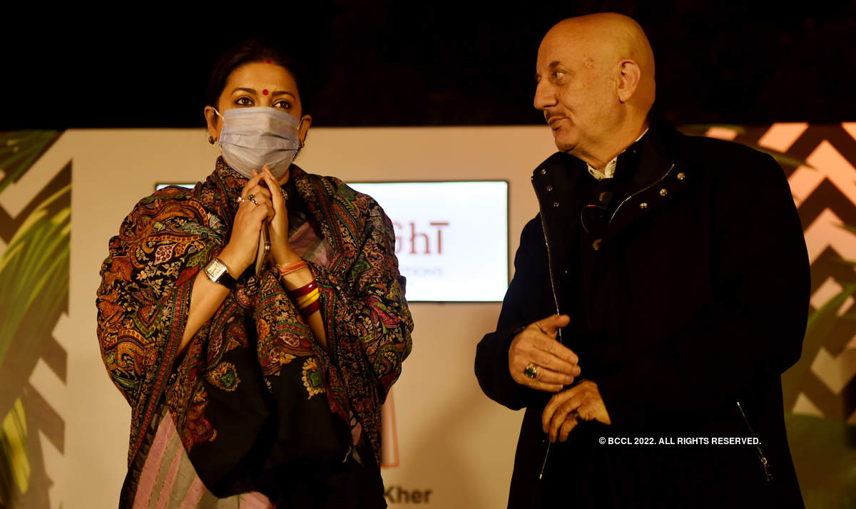 Anupam Kher launches his book 'Your Best Day is Today' in the Capital