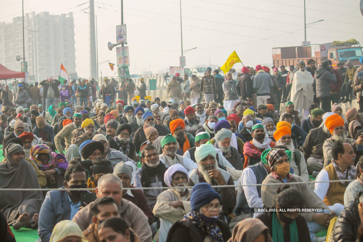 Musicians and actors join farmers' protests at Delhi's Ghazipur border
