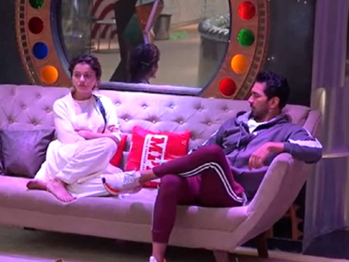 Rubina Dilaik and Abhinav Shukla in Bigg Boss 14