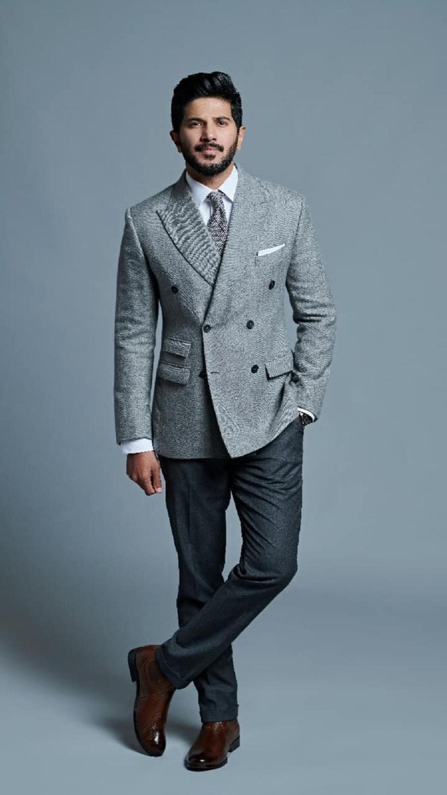 Tailored suits can work wonders