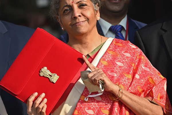 Nirmala Sitharaman presents Union Budget 2021