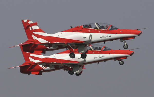 Rehearsals in full swing for Aero India 2021