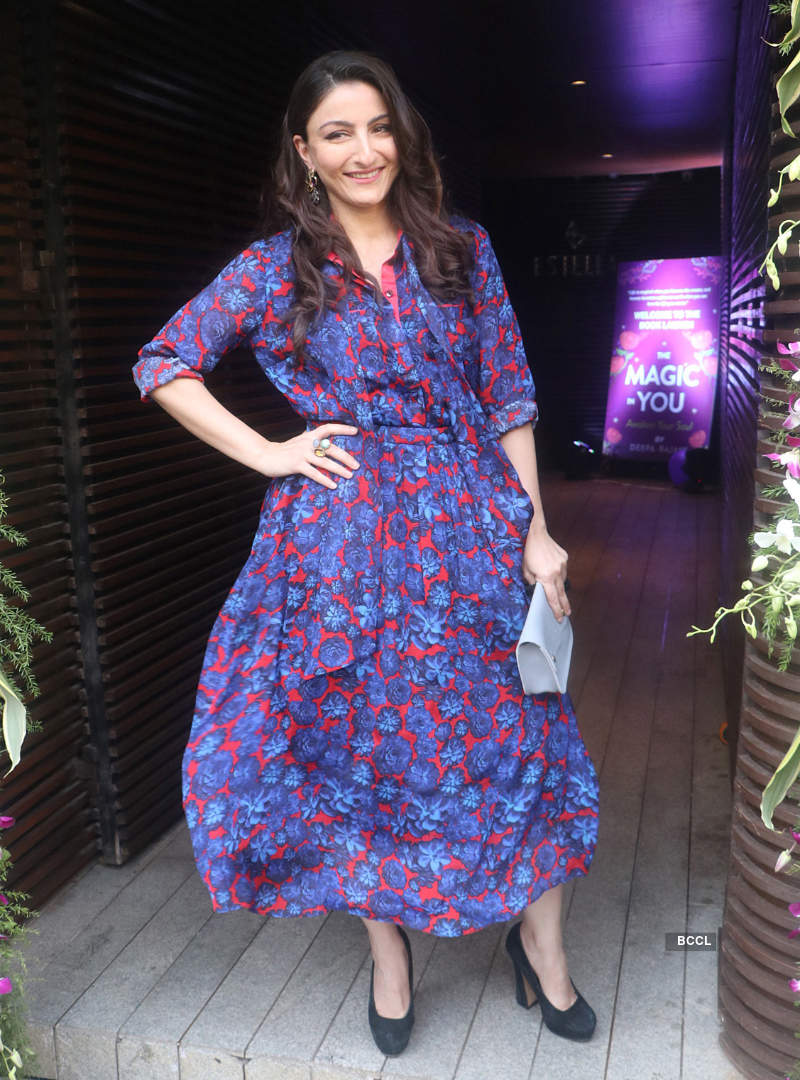 Soha Ali Khan attends Deepa Rajani's book launch