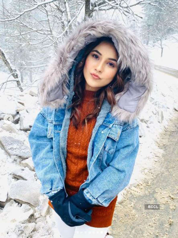 Shehnaaz Gill's Kashmir workation pictures go viral
