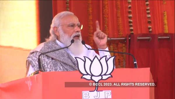 PM Modi visits West Bengal, Assam