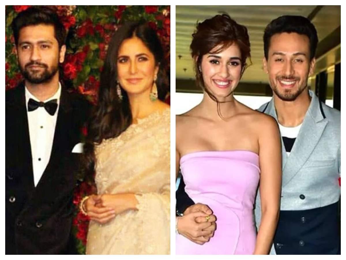 Katrina Kaif-Vicky Kaushal, Tiger Shroff-Disha Patani: Rumoured Bollywood couples we wish would make their relationship official soon - Times of India