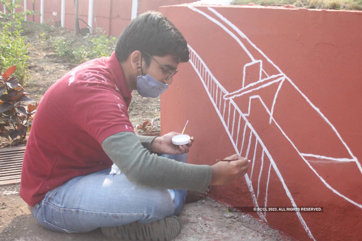 I-Clean Nagpur beautifies Vanamati